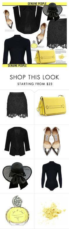 """""""GENUINE-PEOPLE 6."""" by adanes ❤ liked on Polyvore featuring M&Co, Jimmy Choo, Sonam Life, Sisley and Genuine_People"""