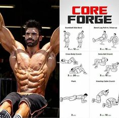 #core #workout #gym #ripped #fatloss #abs