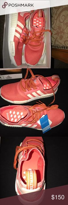 Adidas NMD Pink Women's size 9.5 Brand new Adidas WMD. Women's size 9.5. NO TRADES Adidas Shoes Athletic Shoes