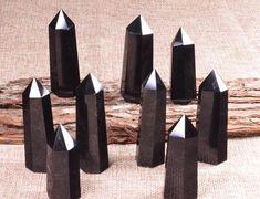 Best Black Obsidian Tower,Black Obsidian Crystal Points