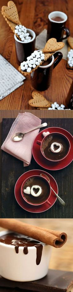 Warm & Sweet - Valentine's Day Hot Chocolate Ideas