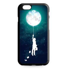 Banksy Balloon Boy Moon iPhone 4/4S/5/5S/5C/6/6S/6+/6S+ Heavy Duty Case