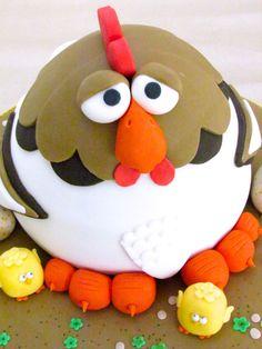Chicken cake! www.littlecakecupboard.co.uk