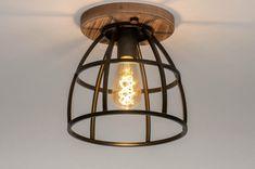 Ceiling light industrial, look, rural, rustic # 0 - Lamp, Ceiling Lights, Ceiling, Interior Design Trends, Home Decor, Lights, Pendant Light, Trending Decor, Light