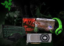 """Join in RazerZone's Summer Survival Sweepstakes where they are giving away one 14"""" Razer Blade Gaming Laptop - all-black aluminum chassis, Intel 4th-generation Core i7-4702HQ running at 2.2-GHz, an Nvidia GTX 765M chip, 8GB of RAM and an SSD 128GB - as the Grand Prize. Plus, 4 prize packages for four (4) weeks. The package contains 2 sets of Razer BlackWidow Ultimate, Razer Deathadder, Razer Kraken Pro, Dead Island: Riptide Collector's Edition, and NVDIA GTX 770."""