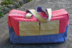 Noodlehead Cargo Duffle Bag, free sewing pattern
