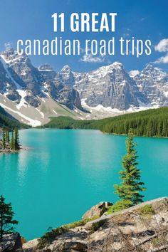 Ready to hit the road and travel across Canada? Here are 11 Great Canadian Road Trips to add to your summer bucket list. Family Vacation Destinations, Cruise Vacation, Vacation Trips, Cruise Tips, Family Vacations, Disney Cruise, Road Trip Essentials, Road Trip Hacks, Road Trips
