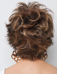 Voltage by Raquel Welch Wigs Short Wigs, Short Curly Hair, Short Hair Cuts, Curly Hair Styles, Natural Hair Styles, Pixie Cuts, Short Pixie, Curly Wigs, Short Shag Hairstyles