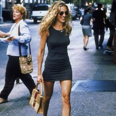 Carrie Bradshaw. Miss her!...and love that dress