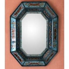 Novica 'Nautical Blue' Mirror