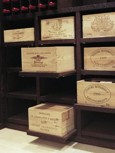 Wooden Wine Boxes & Wine Crates: Classic Wine Crate Project Ideas and Pictures