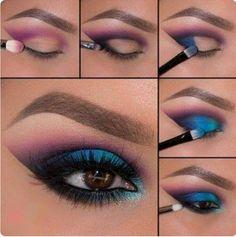 Makeup mermaide