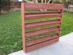Living Wall Planter idea (purchase in L.A. area)
