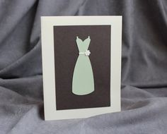 Thank You for Being My Bridesmaid Card by patternedpomegranate, $3.25