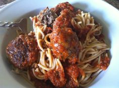 Spaghetti and Meatballs – From Jessica's Kitchen