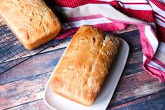 Two Loaves Of Buttermilk Honey Bread. Quick Bread Recipes, Bread Machine Recipes, Cooking Recipes, Easy Bread, Honey Bread, Best Grilled Cheese, Recipe Box, Our Daily Bread, Desserts