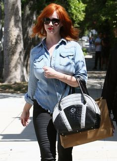 Elegantly ineffable excellence of Christina Hendricks Christina Hendricks, West Hollywood, Best Stretch Mark Creams, Best Testosterone, Hollywood Boulevard, American Hairstyles, Perfect Woman, Celebs, Celebrities