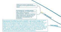 Técnicas y estrategias de aprendizaje cooperativo -VIII-.