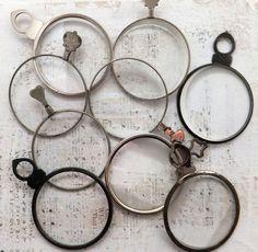 Vintage Optometrist Lens.