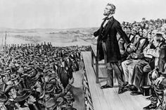 """On April 11, 1865, President Lincoln gave a speech becoming the first president in American History calling to give voting rights for African-Americans.  On the White House lawn stood John Wilkes Booth who was overheard saying, """"That's the last speech he'll ever make.  Three nights later, Booth made sure his statement was accurate."""