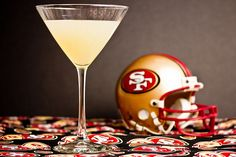 San Francisco 49er Spicy Bay Martini