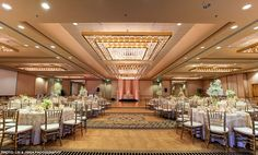 Wood ballroom with french doors leading to private patio overlooking ocean Crowne Plaza Redondo Beach And Marina Hotel
