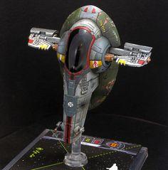 Boba Fett, Slave 1, Starship, X, X-Wing