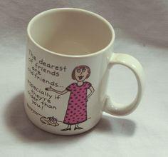 Leslie Ann Shoebox Greetings Coffee Mug 1988 Hallmark