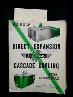 Super Rare Vintage 1960 De Laval Dairy Milking Machine Brochure Magnetic Milker