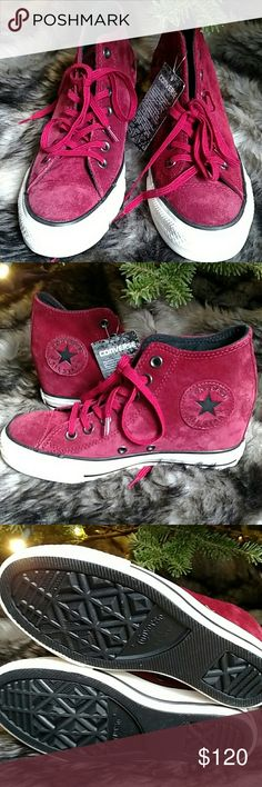 79053a412c1 Shop Women s Converse Red size 7 Sneakers at a discounted price at  Poshmark. Never worn!