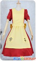 Alice Madness Returns Cosplay Alice Red Yellow Dress Cosplay