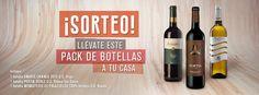 Gana un lote de tres botellas de vino GRATIS