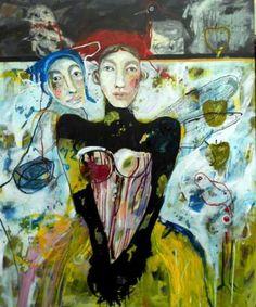 Whispering angels Whispering Angel, Humility, Painting Art, Saatchi Art, Original Paintings, Angels, The Originals, Canvas, Tela