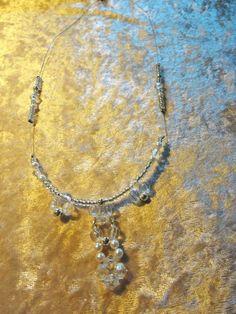 Schöne und elegante Mode Halskette von Filz und mehr auf DaWanda.com
