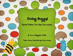 Classroom Freebies: Goin Buggy!