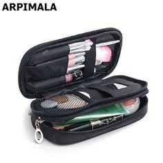 ARPIMALA Bolso Mujeres Viajan Bolsas de Cosméticos de Maquillaje Organizador Caja De Almacenamiento Cepillo Necessaries Maquillaje Profesional de Belleza de Aseo Bolsa en Bolsas de cosméticos y Estuches de Maletas y Bolsos en AliExpress.com | Alibaba Group