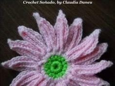 CROCHET WILD DAISY / MARGARITA SILVESTRE CROCHET