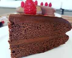 Intense Low Carb keto friendly double layered chocolate cake