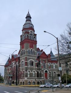 Pulaski County Courthouse, Little Rock, Arkansas (This is the old courthouse. A newer courthouse is attached.)