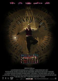 longlivethebat-universe:  Suicide Squad poster byBryan Fiallos http://bryanzap.deviantart.com