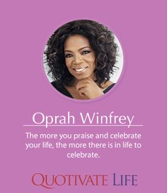 Oprah Winfrey, Be Present Quotes, Singles Events, Women In Leadership, History Images, Choose Love, Life Happens, Photo Quotes, Powerful Women