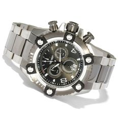 Invicta Men's Arsenal Reserve Swiss Quartz Watch 0338    One of the LARGEST watches made by Invicta on sale for $469.00