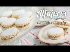 Alfajores de maicena | #3 Mesa dulce para Baby Shower | Quiero Cupcakes! - YouTube