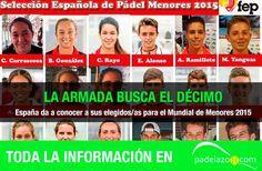 La Armada busca el décimo en México. Andalucía y Madrid, la base de una selección de menores espectacular.