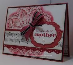 Trinity Designs: Vintage Doily Mother's Day