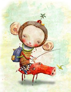 Art By: Cosei Kawa, dibujo de Edward Burns