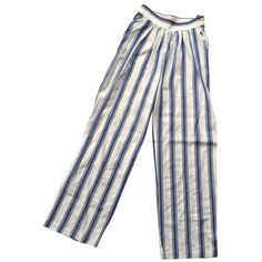 3dd3f34d8268 Large pants PAUL JOE ($20) ❤ liked on Polyvore featuring pants, bottoms,  trousers, white pants, cotton pants, white trousers, white cotton pants and  cotton ...