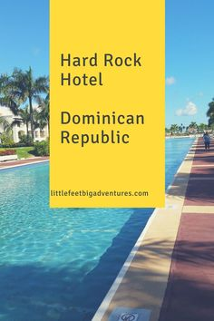 We stayed at the Hard Rock Hotel and Casino in Punta Cana. It is located on 121 acres along Macao Beach. We had such a great family vacation!