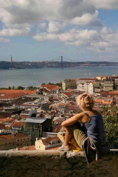 Desde el castillo de San Jorge en Lisboa