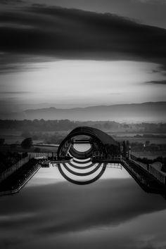 """""""Falkirk Wheel"""" by John Stokes"""
